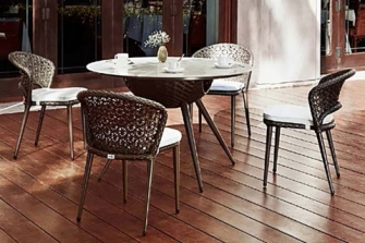 Set table and chairs Arta117F