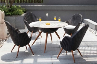 Set table and chairs Arta117